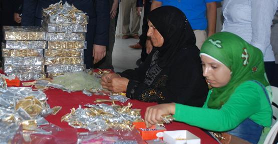 Mülteci kadınlar meslek sahibi oldu