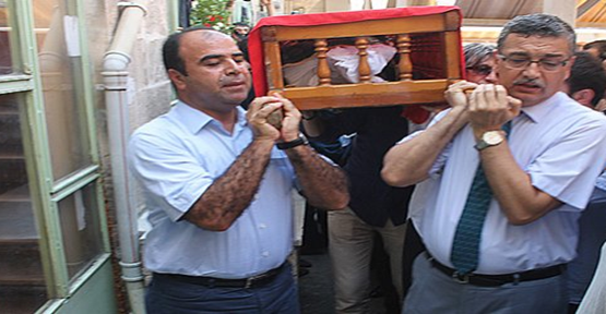 Mustafa Demir uğurlandı