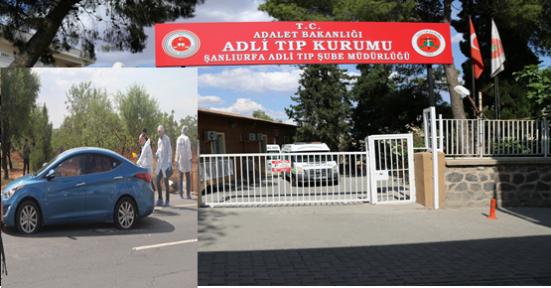 Öldürülen PKK'lı Adli Tıpa getirildi