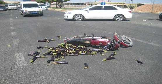 Otomobil Çarptı Kaçtı; 1 Yaralı