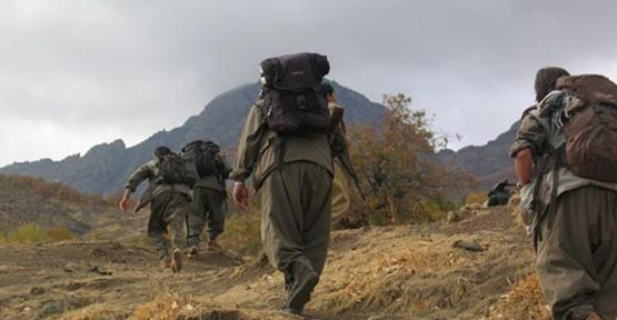 PKK  Çekilme Fotoğrafını Yayınladı