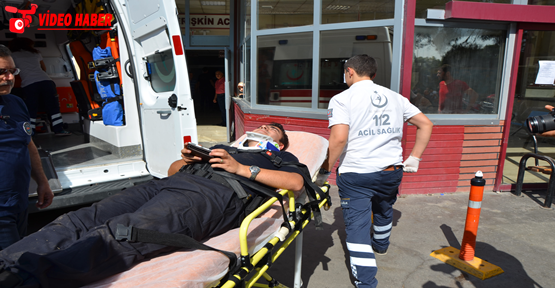 Polis otosu kaza yaptı, 7 yaralı