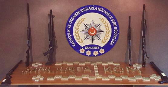 Polisten silah bayilerine operasyon