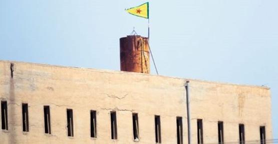 PYD Bayrağı İndi