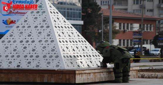 Rabia meydanında bomba paniği