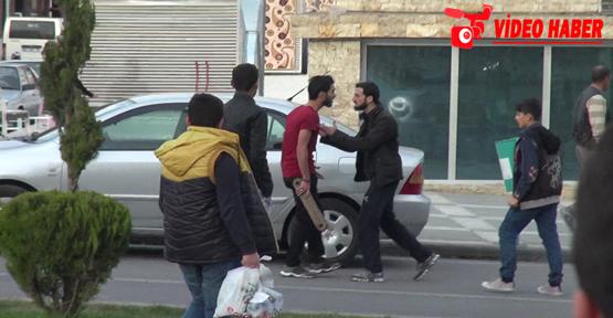 Rabia meydanında kavga