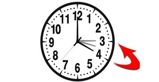 Saatler, bu gece 1 saat geriye alınacak!