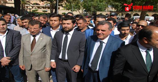 Şanlıurfa AK Parti gençlik kollarından teröre tepki