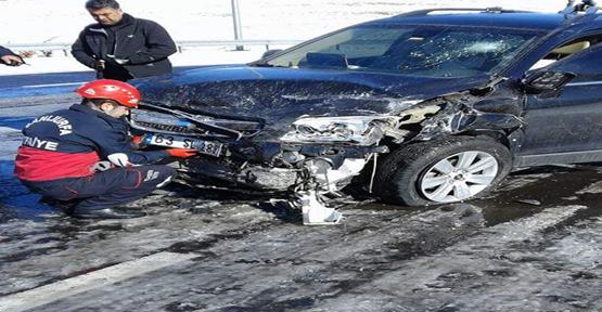 Şanlıurfa-Gaziantep yolunda kaza, 3 yaralı