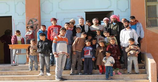 Şanlıurfa İHH Suriye Tellabyad'da