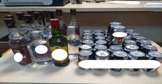 Şanlıurfa polisinden sahte içki operasyonu