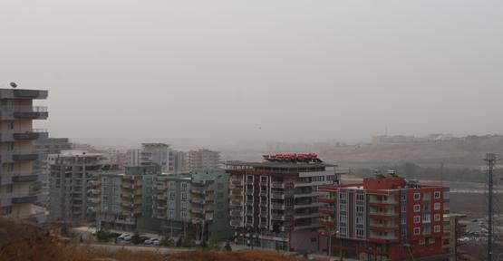 Şanlıurfa toz bulutun etkisinde
