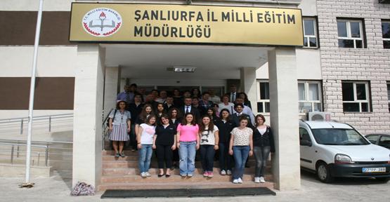Şanlıurfa ve İstanbul Anadolu Liseleri  Buluştu
