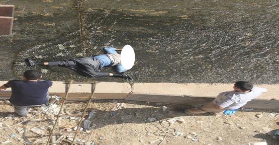 Şanlıurfa'da Balaban kanalında ceset bulundu