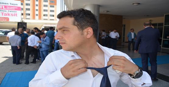 Şanlıurfa'da Gazeteciye Saldırı