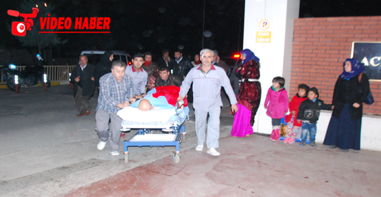Urfa'da yangın hastalar tahliye oldu