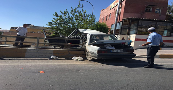 Şanlıurfa'da ilginç kaza