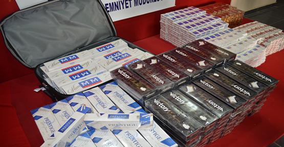Şanlıurfa'da  Kaçak Sigaraya 5 Gözaltı