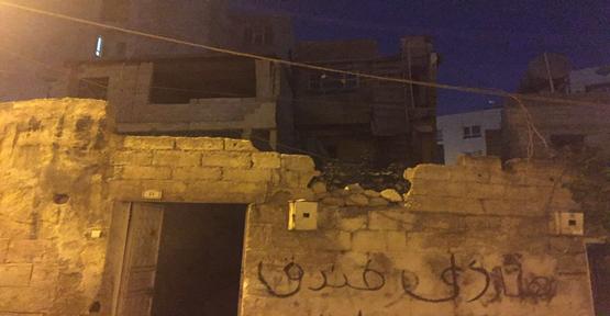 Şanlıurfa'da mesken ev çöktü
