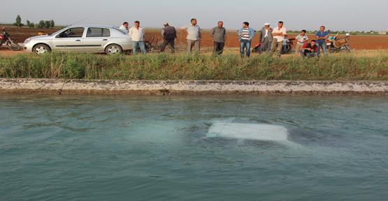 Şanlıurfa'da otomobil kanala düştü