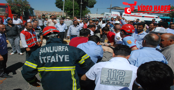 Şanlıurfa'da Savaş Gibi Kaza:1 Ölü 3 Yaralı