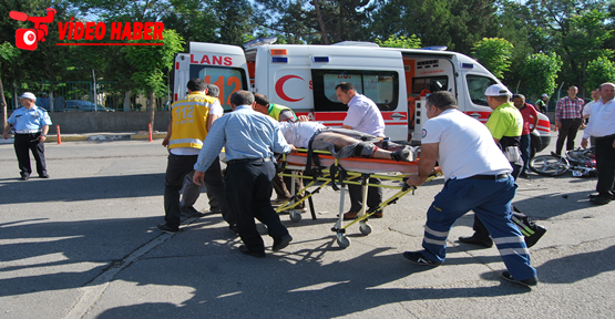 Şanlıurfa'da Trafik Kazası; 1 Yaralı