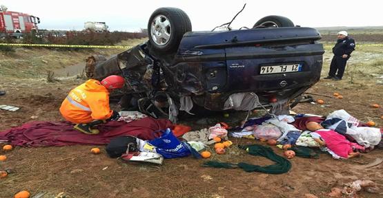 Şanlıurfa'da trafik kazası: 3 ölü 5 Yaralı