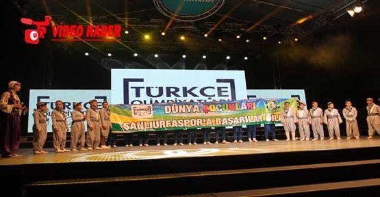 Şanlıurfa'da Türkçe Olimpiyatları Coşkusu