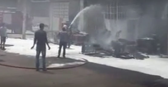 Şanlıurfa'da yangın paniği