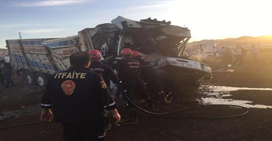 Şanlıurfa'da zincirleme kaza, 4 yaralı
