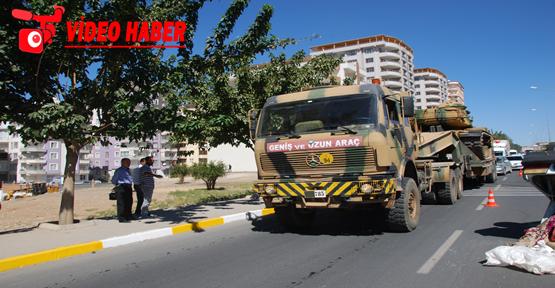 Şanlıurfa'dan sınıra tank sevkiyatı