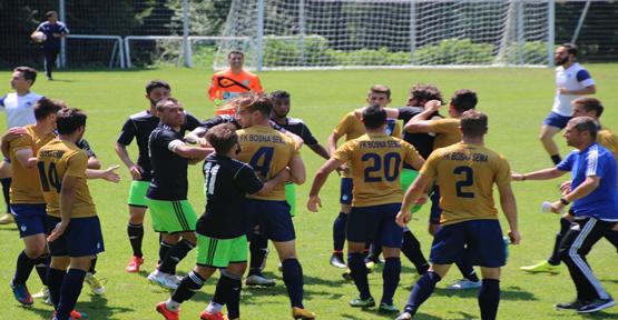 Şanlıurfaspor maçında kavga