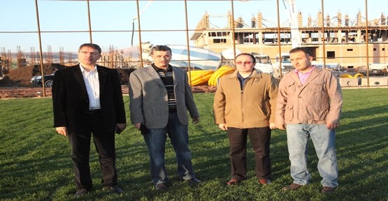 ŞANLIURFASPOR TESİSLERİ ŞUBAT'TA HAZIR