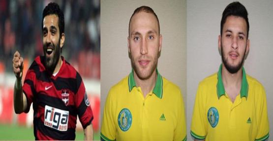 Şanlıurfaspor'da üç futbolcu transfer edildi