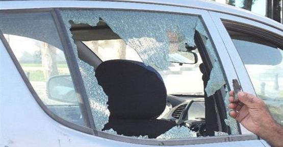 Şarapnel Parçaları Araca İsabet etti