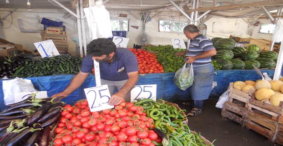 Sebze Fiyatlarında  Ramazan Ayarı