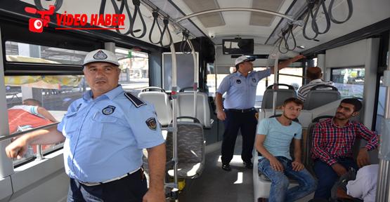 Şehir içi otobüslerde klima denetimi