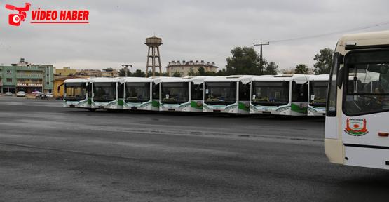 Şehir içi ulaşımına 9 yeni otobüs