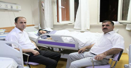 Şehit Annesini Hastanede Ziyaret