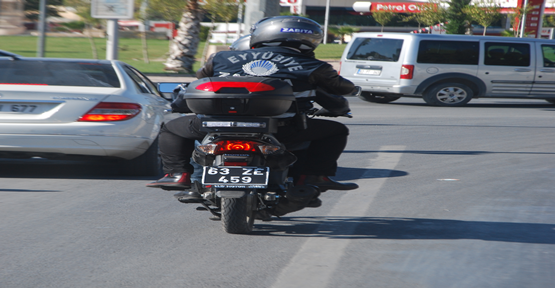 Seyyar satıcılara karşı motorize ekip