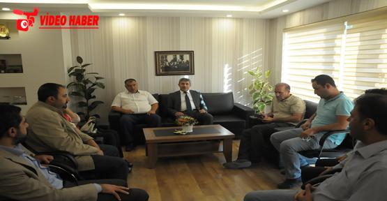 SUÇGAD'tan BELSAN Genel Müdürü Urmak'a ziyaret