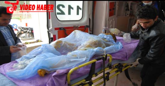Süleyman şah çadır kentinde çadır yandı 1 kişi öldü 2 kişi yaralandı
