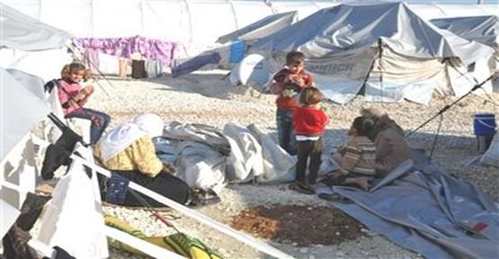 Süleyman Şah Mülteci Kampında Ek Çadırlar Yapılıyor