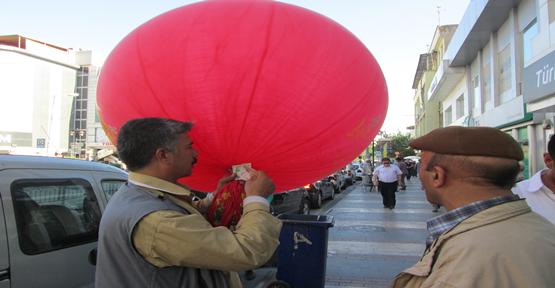 Suriye Balonları Yok Satıyor