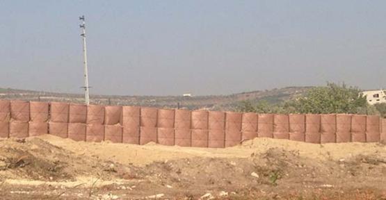Suriye sınıra dayanıklı duvar