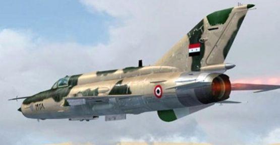 Suriye sınıra uçak düştü