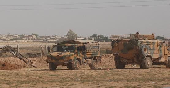 Suriye sınırda çatışma,1 ölü