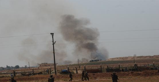 Suriye sınırda patlama