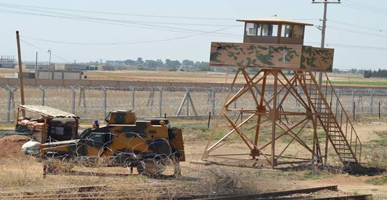 Suriye Sınırında  3000 kişiye müdahale
