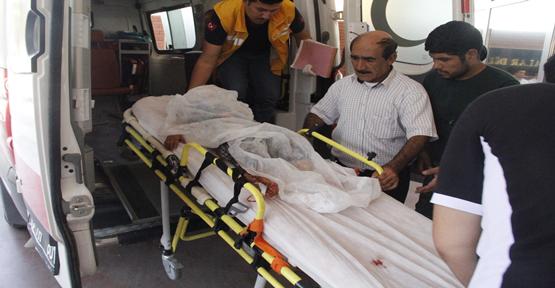 Suriye'de bubi tuzağı patladı,  2 yaralı